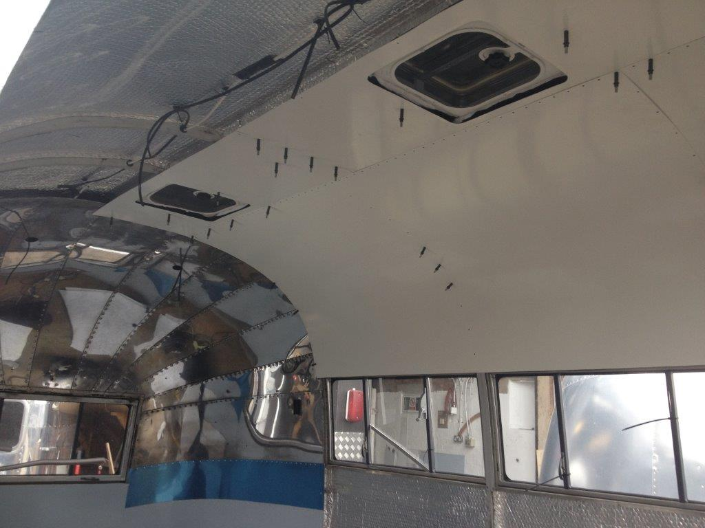 Fitting Airstream Internal Skin