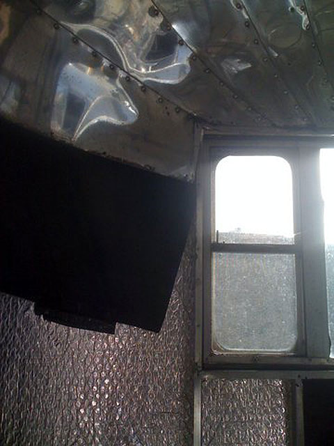 Thinsulate Insulation for Vintage Airstream