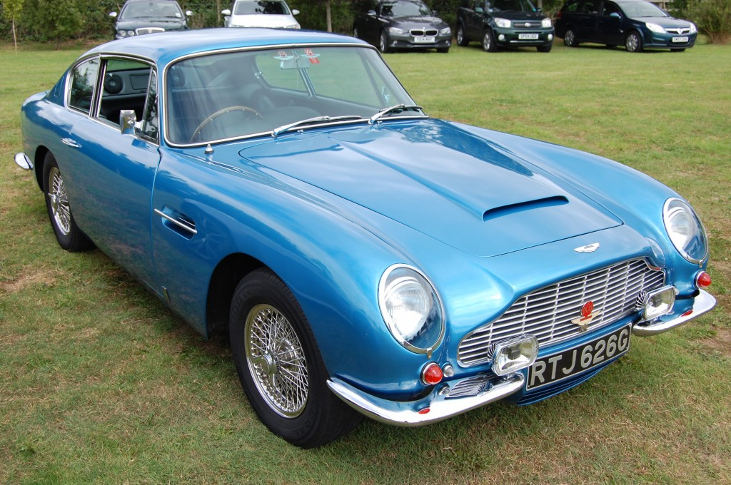 And here's a rather nice Aston!